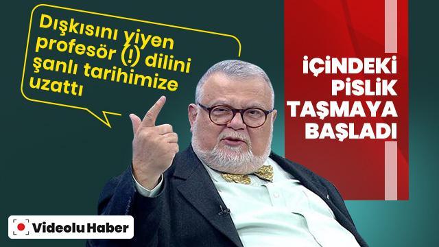 Dışkı yiyen Celal Şengör yine konuştu: En cahil Türkler Müslüman Türklerdir