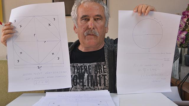 'Matematik'te Pi sayısı gereksiz' iddiası