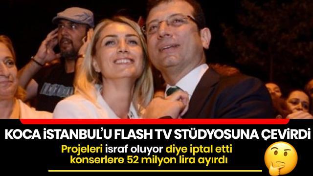 Projeleri israf oluyor diye iptal etti, konserlere 52 milyon lira ayırdı