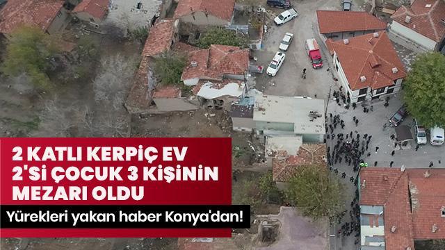 Konya'daki enkazdan acı haber! 3 kişinin cansız bedenine ulaşıldı