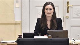 Dünyanın en genç başbakanına Finlandiya Parlamentosundan onay