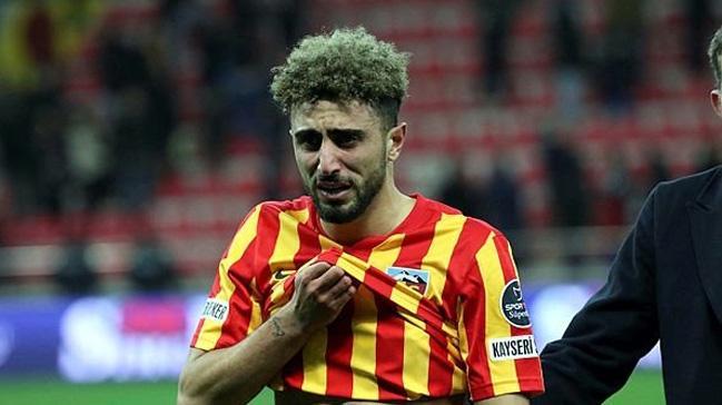 Kadro dışı bırakılmıştı! Başacıkoğlu, Kayserispor'a veda etti