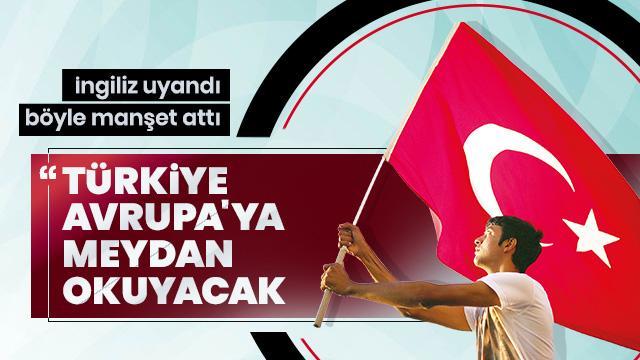 """""""Türkiye meydan okuyacak"""""""