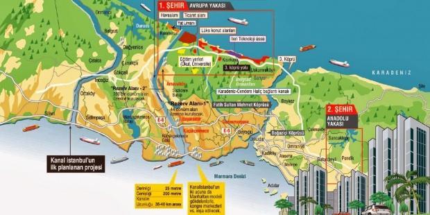 Tarihi değiştirecek proje! İşte Kanal İstanbul'un detayları