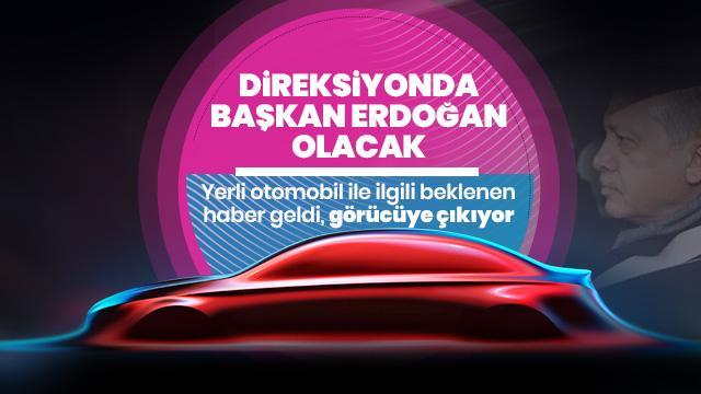 Yerli otomobilde flaş gelişme! Görücüye çıkıyor, direksiyonda Başkan Erdoğan olacak...