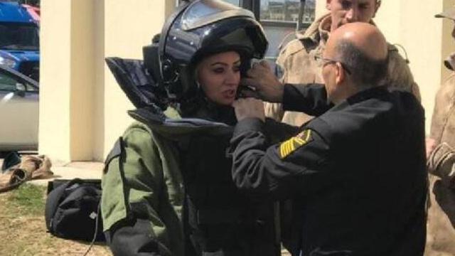 Şehidimiz Üstçavuş Esma Çevik'e son görev