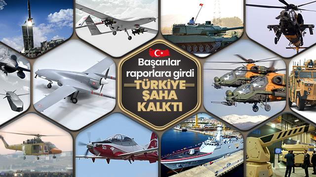 Türk savunma sanayi Başarıdan başarıya koşuyor! Küresel ticaret raporuna girdi