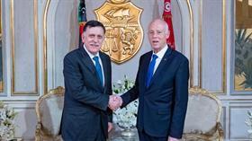 Libya Ulusal Mutabakat Hükümeti ve Tunus liderleri, iki ülke arasındaki sorunları görüştü