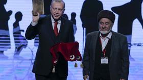 Ahıska Türkleri'nden Başkan Erdoğan'a anlamlı hediye