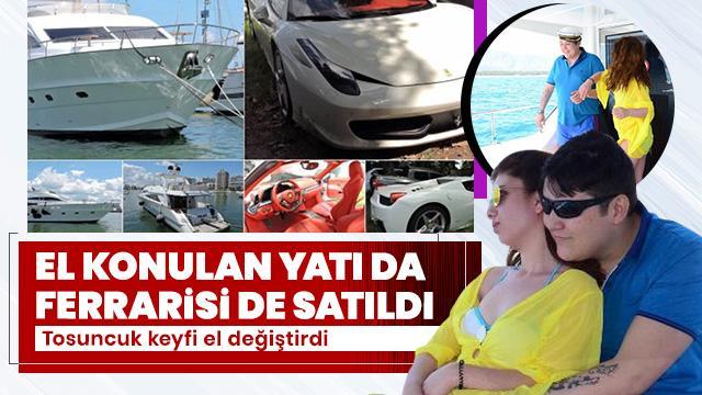 Tosuncuk Mehmet Aydın'ın el konulan malları satılıyor