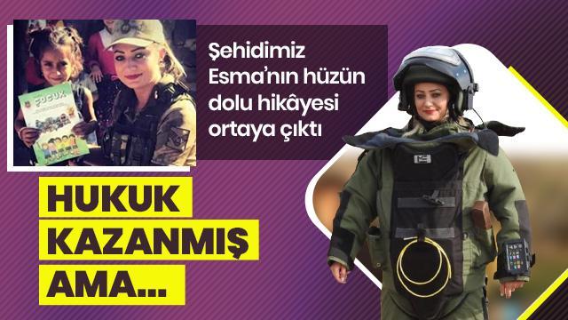 Şehit Esma Çevik'in hüzün dolu hikayesi ortaya çıktı