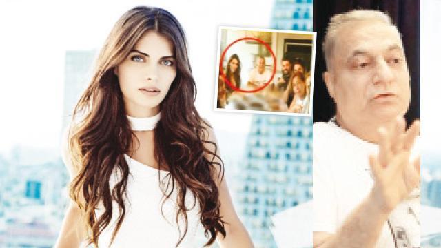 Ceren Hindistan, Mehmet Ali Erbil'le aşk sarması!