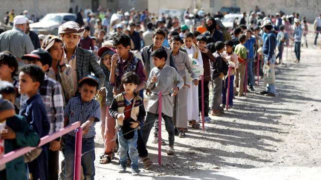 Bu yıl 393 bin Yemenli evlerini terk etmek zorunda kaldı