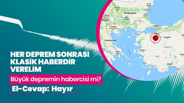 Balıkesir'deki depremler büyük depremin habercisi mi?