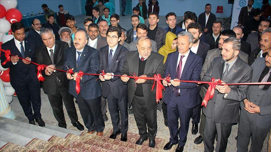 Türkiye Maarif Vakfı Afganistan'ın Mezar-ı Şerif kentine eğitim merkezi açtı
