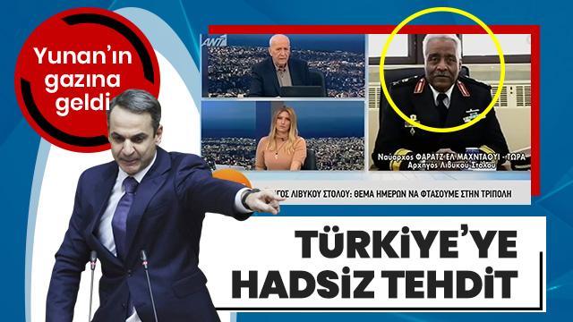 Atina'nın emrine giren Hafter'den Türkiye'ye hadsiz tehdit