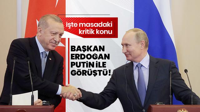 Başkan Erdoğan, Putin ile telefonda görüştü