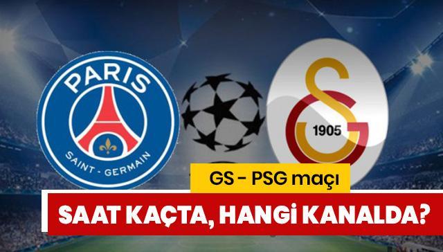 GS PSG maçı ne zaman hangi kanalda? GS PSG maçı şifresiz canlı nereden izlenir?