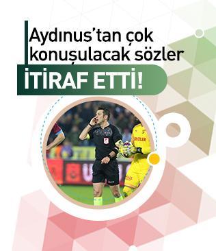 Fırat Aydınus, Trabzonspor-Göztepe maçındaki pozisyonu ilk kez açıkladı: Çarptığımı görmedim