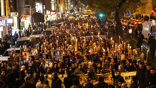 İstanbul'da darbeci Sisi'yi korkutan gösteri