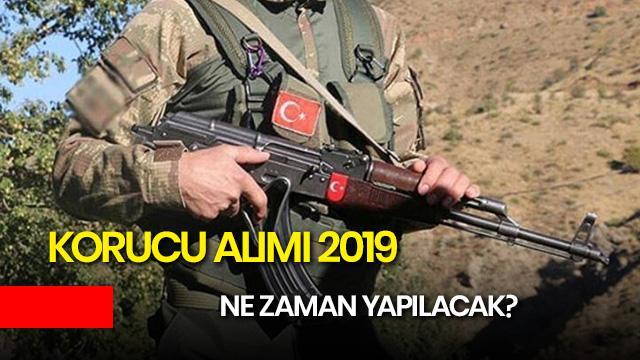 Korucu alımı 2019 ne zaman? Jandarma Genel Komutanlığı korucu alımı şartları neler?