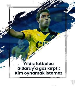 Yıldız futbolcu G.Saray'a göz kırptı: Böyle bir takımda kim oynamak istemez