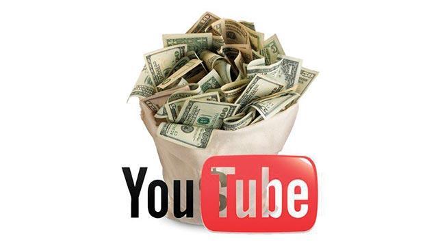 YouTube para bastı