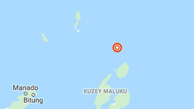 Endonezya'da 5,4 büyüklüğünde deprem meydana geldi