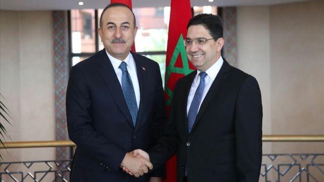 Çavuşoğlu, Fas Dışişleri Bakanı Burita ile görüşme gerçekleştirdi