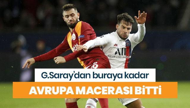 Galatasaray, Fransa'dan eli boş döndü