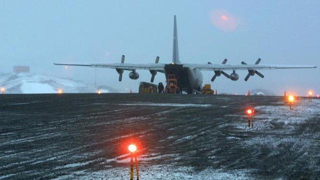 İki gün önce Şili'de kaybolan askeri uçağın arandığı bölgede insan kalıntıları bulundu