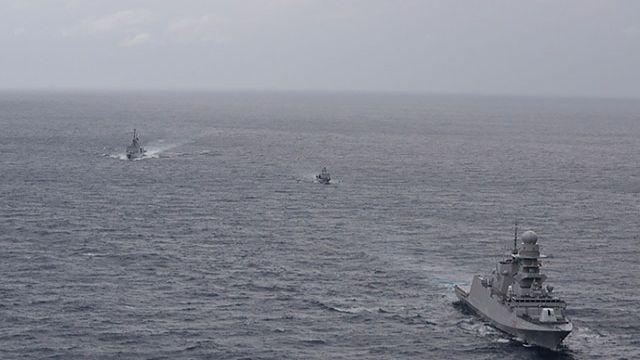 Libya ile varılan anlaşmayı hazmedemeyen Fransa, İtalya ve Rum Kesimi, askeri tatbikat başlattı