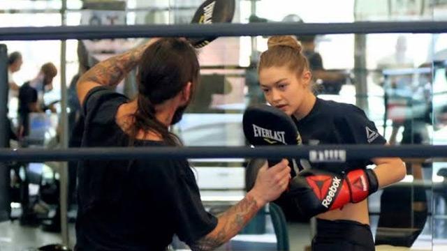 ABD'li model Gigi Hadid: Salona gidip spor yapamam