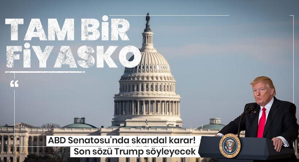 ABD senatosunda skandal karar! Sözde Ermeni Soykırımı tasarısı kabul edildi