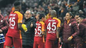 Galatasaray'da Fatih Terim'in açıklamaları yabancıları etkiledi