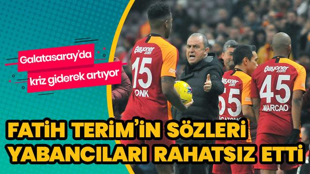 Galatasaray'da kriz var!