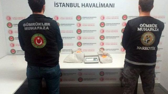 İstanbul Havalimanı'nda müthiş uyuşturucu operasyonu: Tam 1 ton 700 kilogram