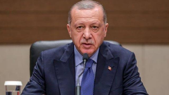 Başkan Erdoğan, Hamas Siyasi Büro Başkanı İsmail Heniyye'yi Dolmabahçe Çalışma Ofisi'nde kabul etti