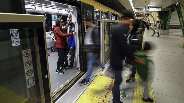 İstanbul'da metro arızası giderildi, seferler normale döndü