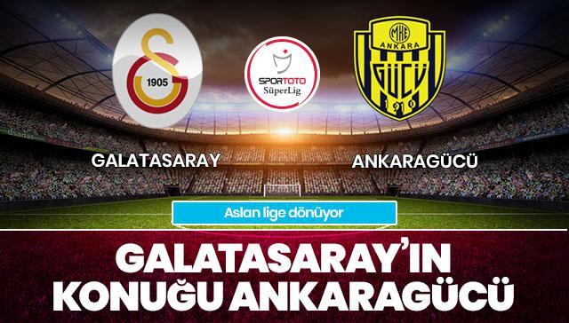 Galatasaray-Ankaragücü CANLI ANLATIM