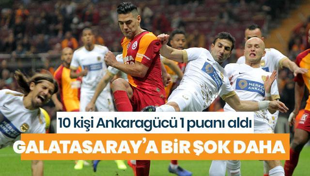 Galatasaray bir şok daha!