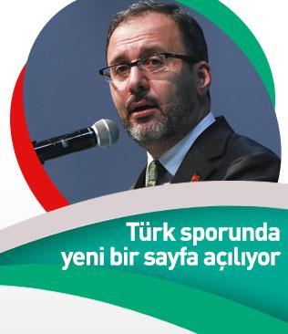 Türk sporunda yeni bir sayfa açılıyor