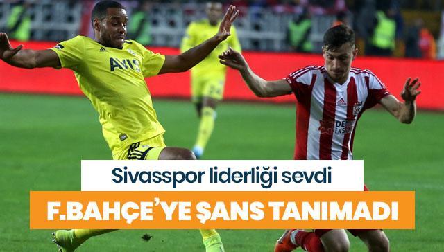 Sivasspor, Fenerbahçe'ye şans tanımadı