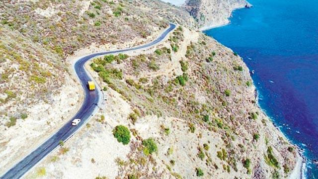 Akdeniz sahil yolu akıllanıyor