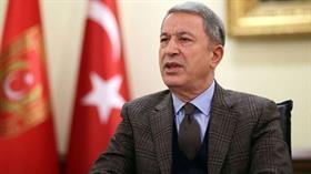 Bakan Akar: Türkiye'ye karşı kullanılmak üzere PKK'nın eline geçmektedir