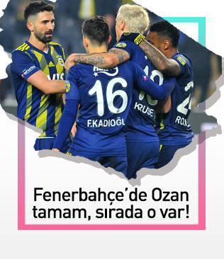 Fenerbahçe'de Ozan Tufan tamam, sırada Hasan Ali var