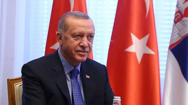Cumhurbaşkanı Erdoğan'dan Larkin'e yeşil ışık