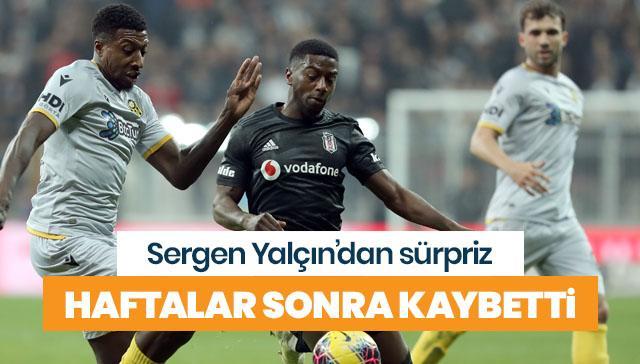 Beşiktaş'a Sergen Yalçın sürprizi