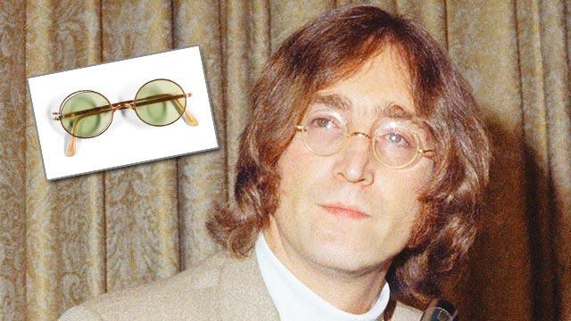 Lennon'un gözlüğüne 1 milyon lira