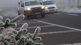 Meteorolojiden 4 il için buzlanma ve don uyarısı